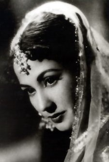 Meena Kumari or Mahjabeen Bano (1 August 1932 - 31 March 1972), was an Indian movie actress and poetess. She is regarded as one of the most prominent actresses to have appeared on the screens of Hindi Cinema.