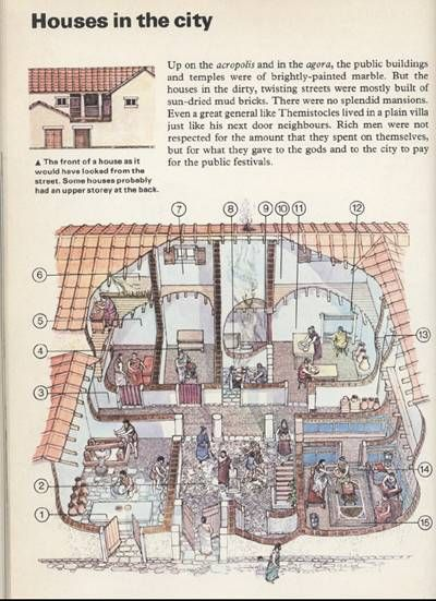 Greek Interior Design History Plans 139 Best Architecture Ancient Greek Culture Images On Pinterest .