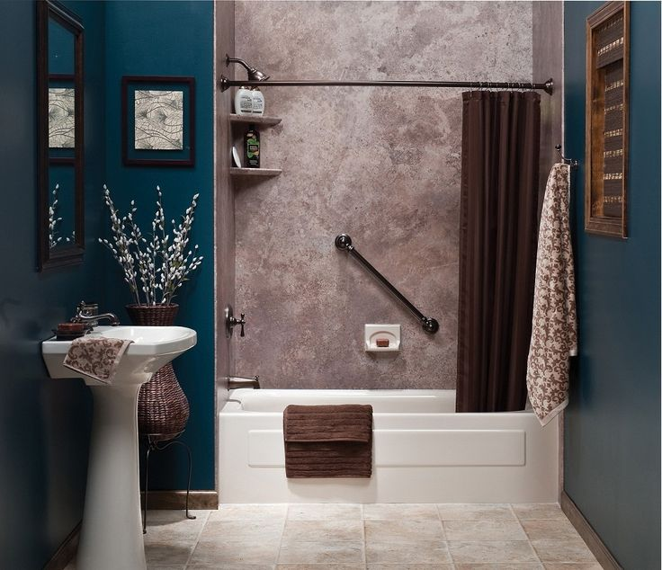 Bathroom Comely White Bathroom Decoration Using: 17 Best Ideas About Brown Tile Bathrooms On Pinterest