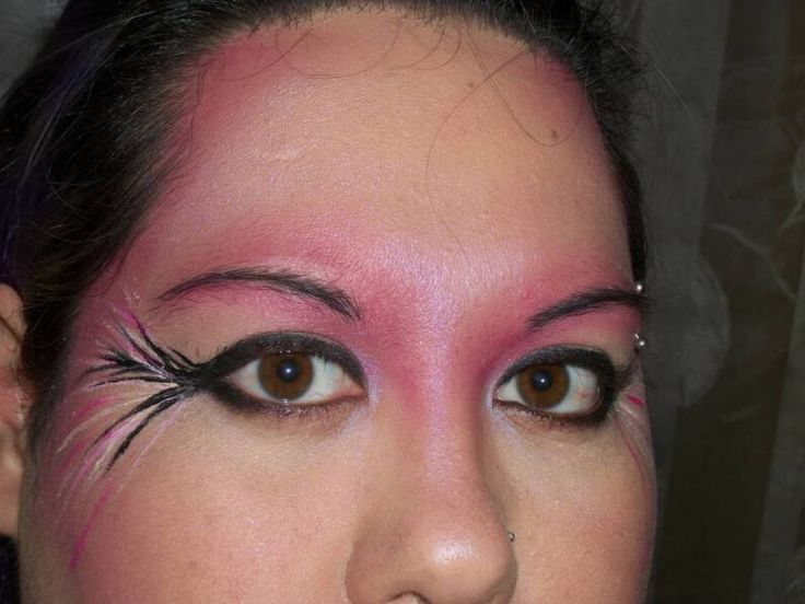 Flamingo Inspired Makeup Tutorial (IMG HEAVY) - BATH AND BEAUTY