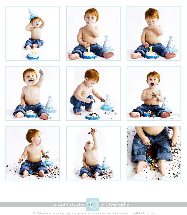 1st birthday photos. I doubt these pictures would be that good unless you have a REALLY happy baby..