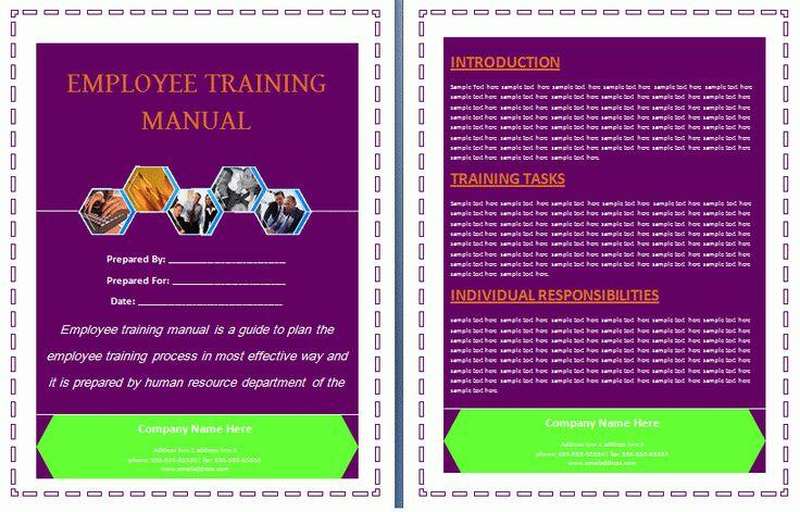 Instructional Manual Template