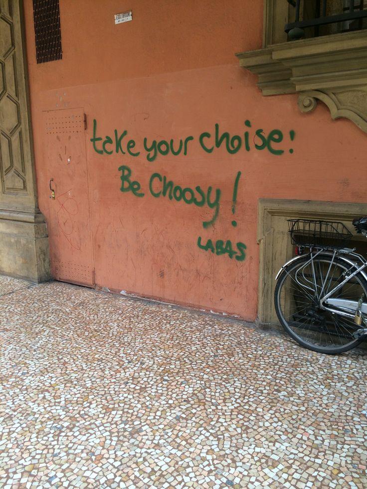 Graffiti in Bologna