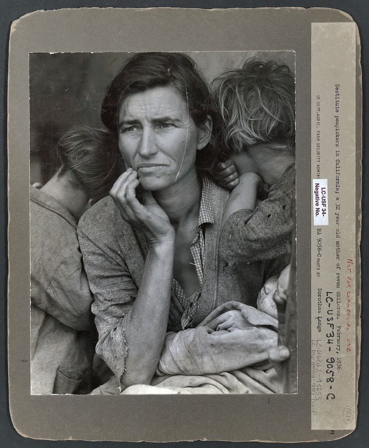 Migrant Mother: 1936   Shorpy Historical Photo Archive