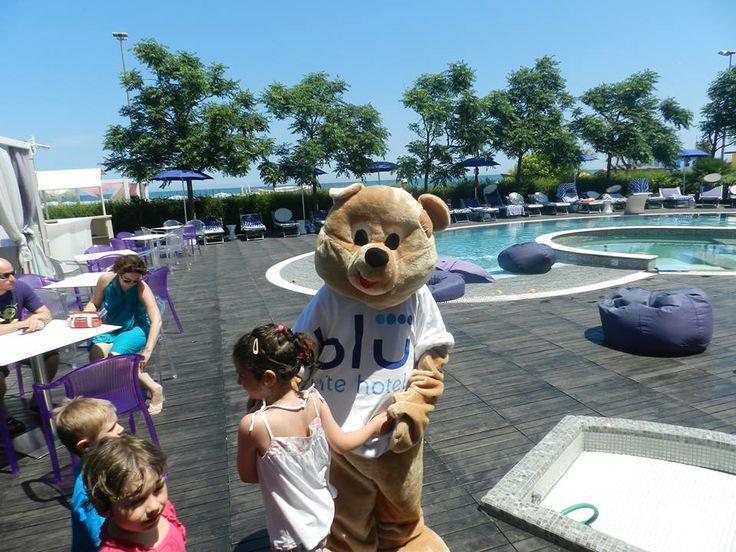 Ma Lulu, vai anche tu in piscina?