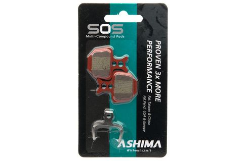 #Ashima Disc Pads Multi Compound Formula Oro #Ashima Disc Pads Multi Compound Formula Oro. Different types of compounds for brake pads have unique advantages and disadvantages. Sintered pads deliver the best wear, high temperature performance and are suitable for most harsh environments. Organic pads deliver excellent low temperature, short term braking, very low disc wear and are the quietest pad compound. So what makes the best pad? A combination of the two! Ashima have developed the SOS…