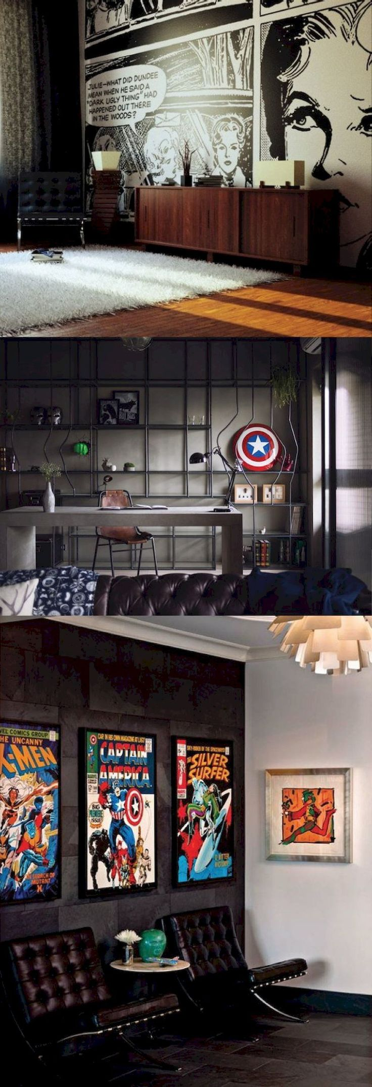 Adorable 70 Simple Home Office Decor Ideas for Men https://roomaniac.com