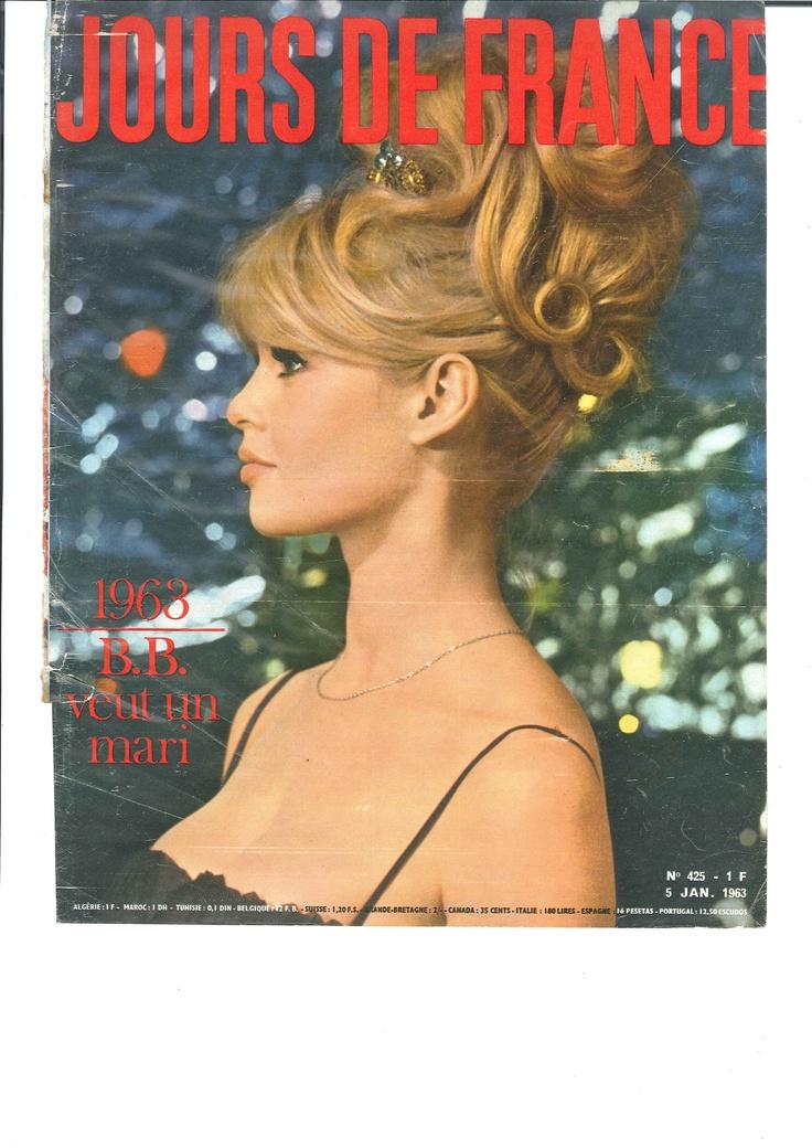 Brigitte Bardot veut un mari - Jours de France n°425, 5 janvier 1963: Celestial France, De Louis, Cafe De, De France, Brigitte Bardot