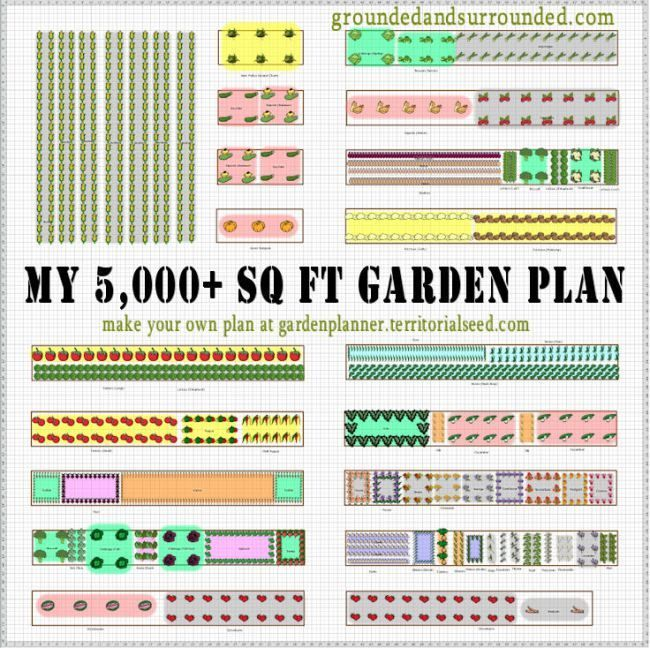 My 5,000+ Sq Ft Vegetable Garden Plan – Garden