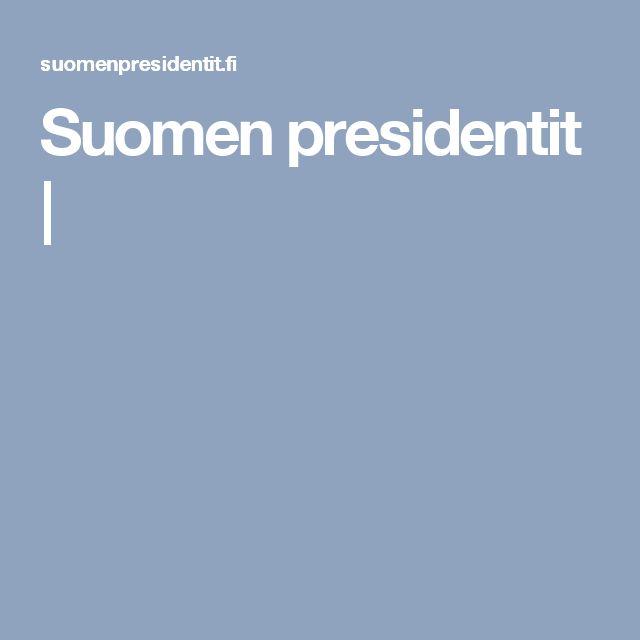 Suomen presidentit  