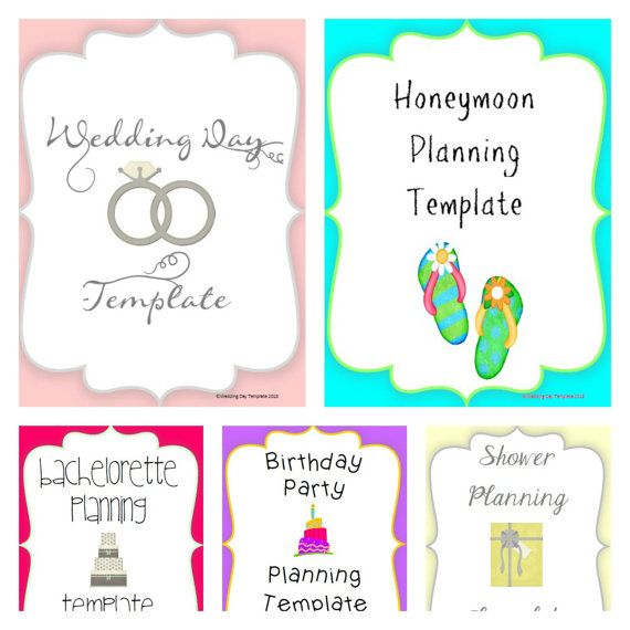 12 best Wedding Organization images on Pinterest Template - baby shower agenda template