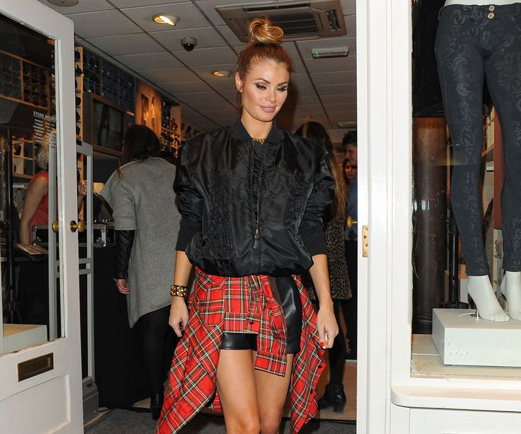 Chloe Sims attends Freddy store opening on King's Road
