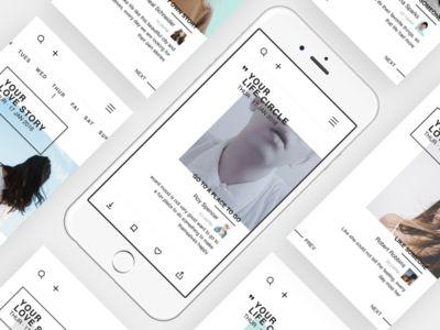 Photo sharing application design