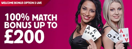 #Welcomebonus Option 2 – Live Casino Get a 100% match up reward up to £200 to play on Live #Blackjack or Live #Roulette. Sit down at one of our tables and enjoy the lavishness and feel of a genuine clubhouse from the solace of your home.  http://www.casinoswithbonus.co.uk/betfair-casino-promotion/#welcome-bonus-option-2