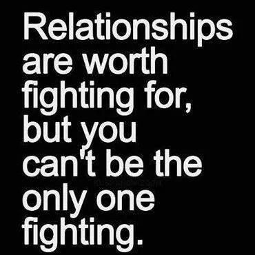 a one way relationship