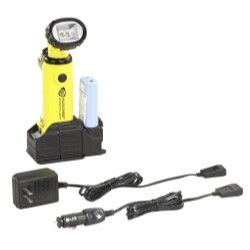 Knucklehead Rechargeable Work Light with AC/DC PiggyBack Charger - Yellow