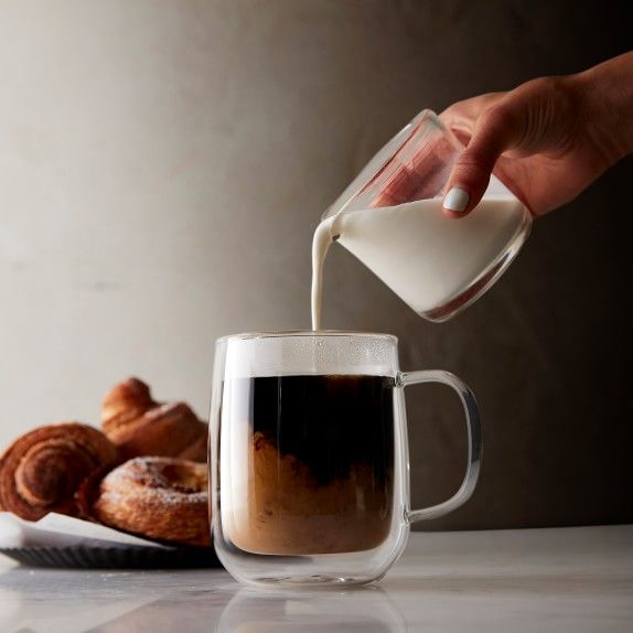 Double Wall Glass Coffee Mugs Williams Sonoma Glass Coffee Mugs Double Wall Glass Mugs