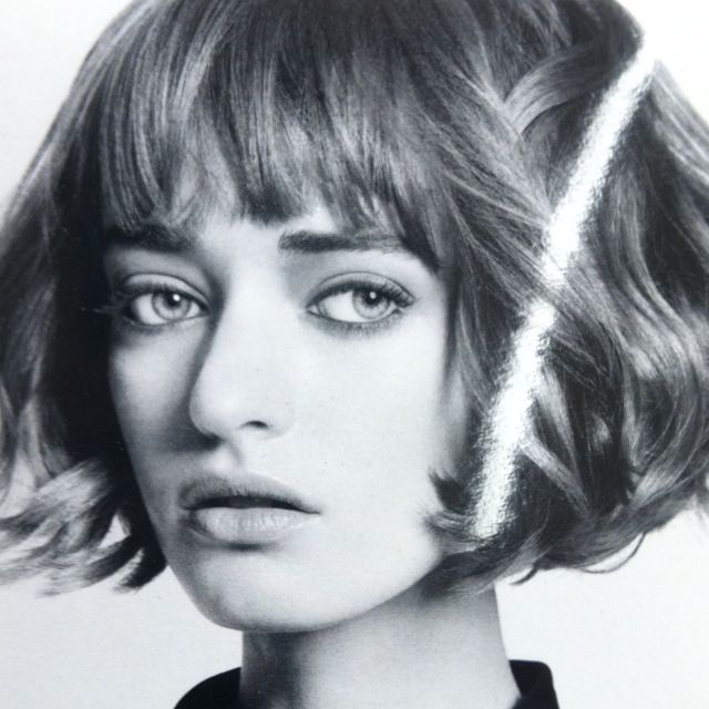 Wavy Bob! This haircut does not have to be straight & heavily layered to look beautiful!