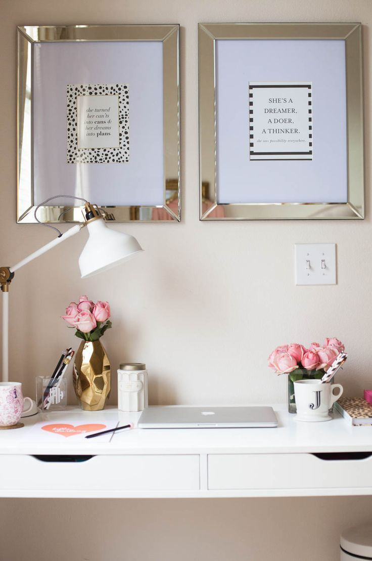 Small and cosy office space. Inbetweenie and plus size style inspiration. www.dressingup.co.nz