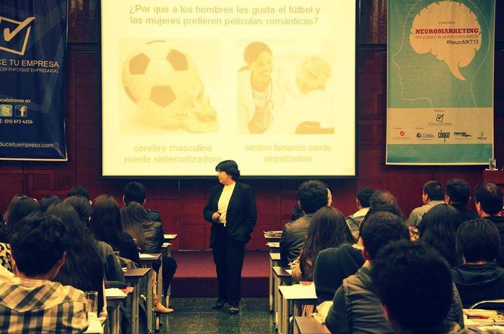 Liliana Alvarado de Marsano, Directora de Marketing en la Escuela de Postgrado de la UPC.