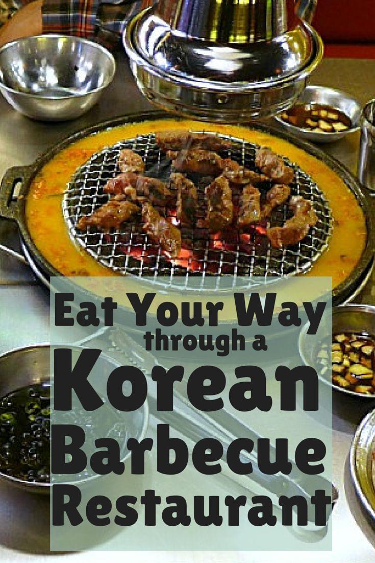 Eat Your Way through a Korean BBQ Restaurant