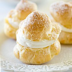 Homemade cream puffs are SO easy to make!