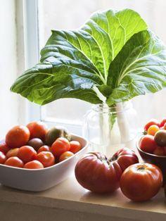 Frisches Obst und Gemüse direkt aus dem Garten? Nicht jeder kommt in den Genuss. Doch es gibt eine Möglichkeit: der Anbau in der Wohnung auf der Fensterbank