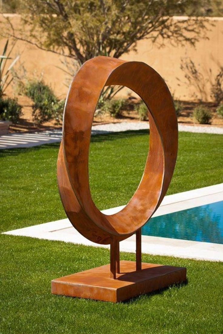 49 ideen fur moderne metallgarten im freien gartenkunstmodern stahl kunst skulpturen schweisskunst kunstdrucke malerei