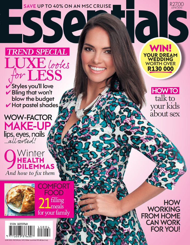 June 2015 cover of Essentials magazine.
