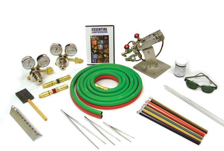 Boro beginner kit flameworking kits delphi glass