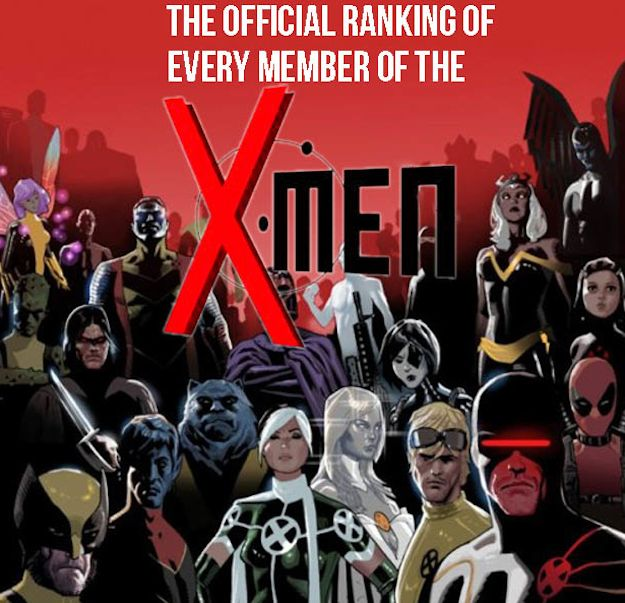 95 X-Men Members Ranked From Worst To Best (I am such a complete dork for X-Men comics. I will never stop secretly wishing for my own mutant powers!)