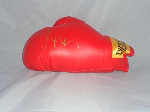 Julio Cesar Chavez SR Autograph boxing glove COA Memorabilia Lane & Promotions