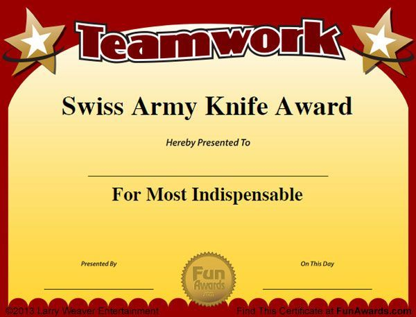 Funny Employee Awards - 101 Funny Awards for Employees, Work, Staff