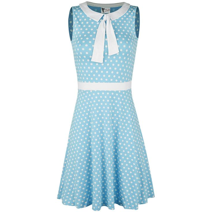Candy Love Collar Dress - Halvlång klänning från Pussy Deluxe