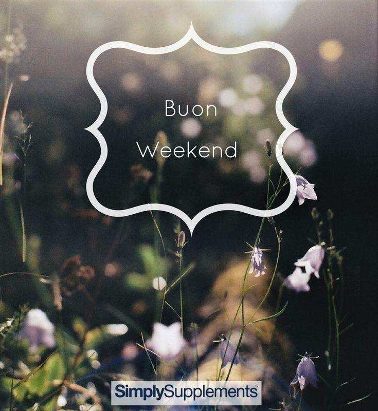 Buon fine di settimana a tutti dal team #simplysupplementsItalia 🎊🐦🎶🌺