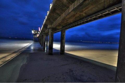 under the Pier .. That's moyo uShaka Pier Durban of course!