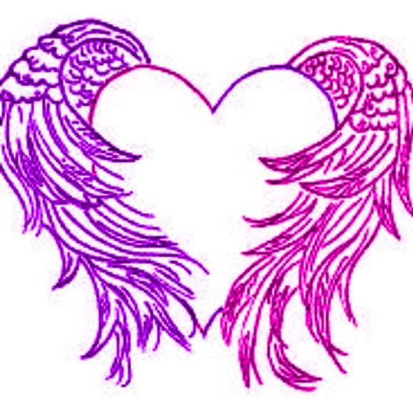 pink and purple hearts  | More from ~ DarkAngel15414