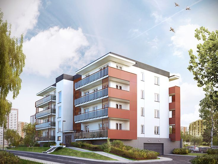 Saturn to wielorodzinny budynek mieszkalny, w którym na 4 kondygnacjach zaprojektowano 19 mieszkań. W podziemiu znajduje się garaż z 19 miejscami postojowymi, kotłownia oraz pomieszczenia gospodarcze.  Pełna prezentacja projektu dostępna jest na stronie: http://www.domywstylu.pl/projekt-domu-saturn.php. #projekty, #wielorodzinne, #mieszkania, #domywstylu, #mtmstyl, #saturn