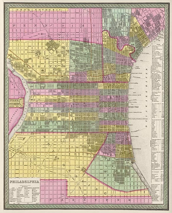 10 best Vintage Philadelphia images on Pinterest Antique maps