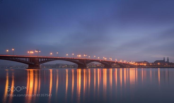 Theodor Heuss Bridge by ColinCranePhoto