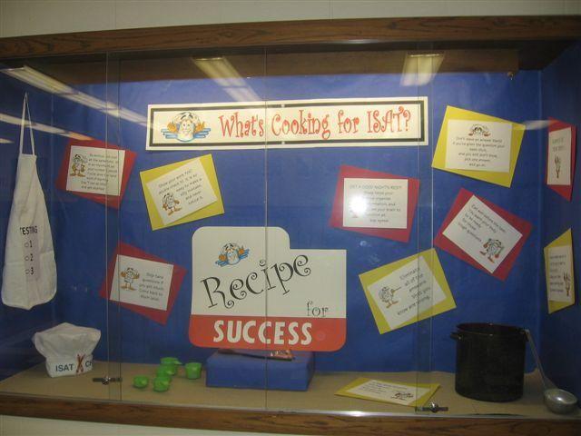 'Recipe' for Success - Test Taking Skills Informational Bulletin Board Idea
