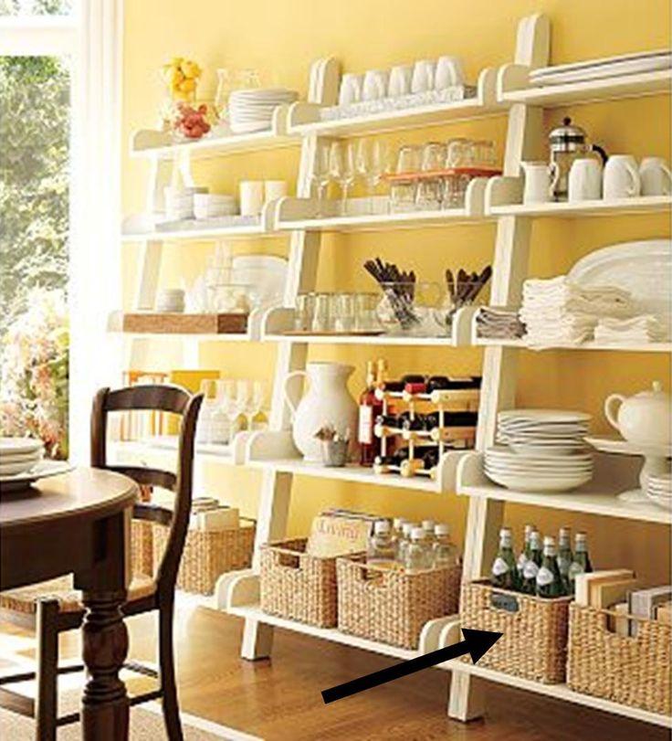 Book Shelves with Baskets | shelves w baskets