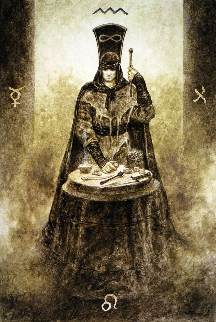 Luis Royo - The Labyrinth Tarot - Major Arcana: Realization
