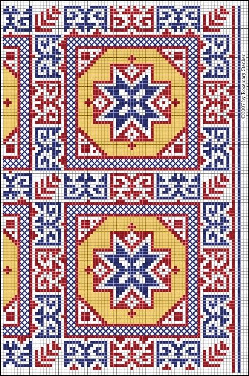 Gallery.ru / Фото #103 - Mediaeval Egypto-Arabic Embroideries - sashapet
