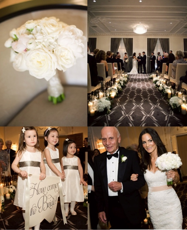 Wedding Ceremony, Rosewood Hotel Georgia, Vancouver by Spread Love Events