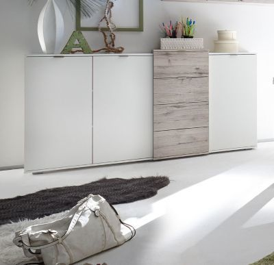 Die besten 25+ Sideboard weiss Ideen auf Pinterest Ikea-gang - wohnzimmer weis silber