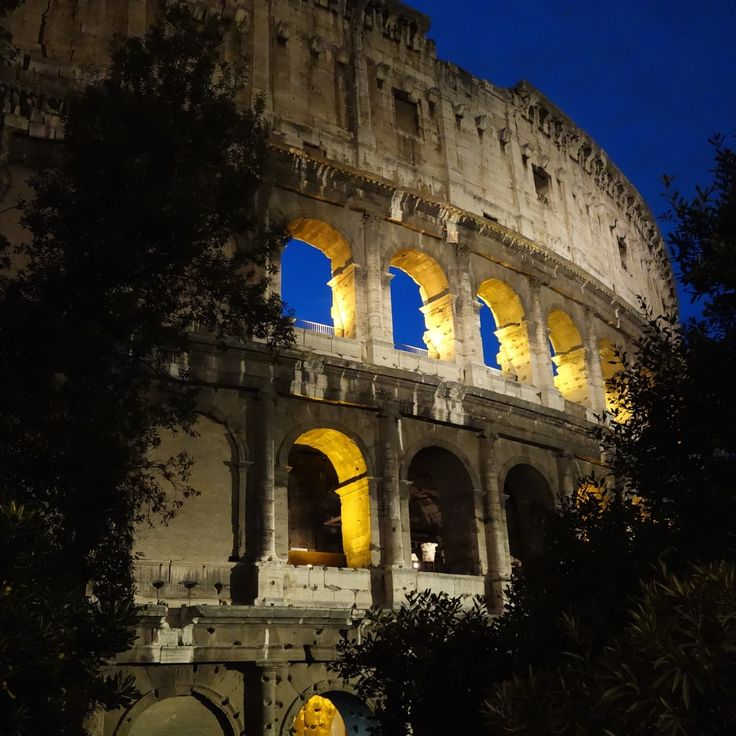 Through the end of October, visit the Colosseum from 8-midnight Mondays, Thursdays, Fridays and Saturdays .