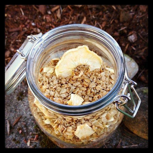 Apple Sunflower Granola