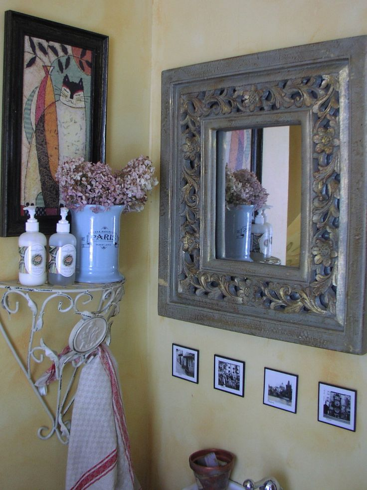 17 best images about french country bathroom on pinterest for French bathroom ideas