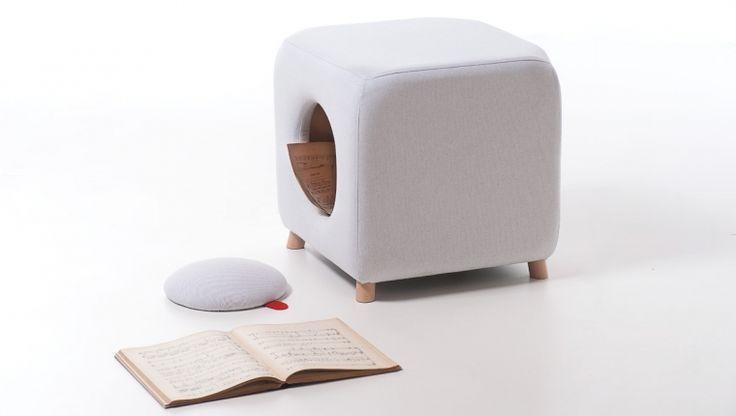 Loblò / storage pouf / design Antonio Onorati / Formabilio